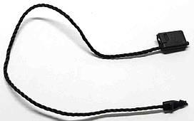 Пломба для одежды, сумок черная