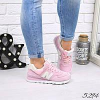 Кроссовки женские New Balance розовый 5294, спортивная обувь, фото 1