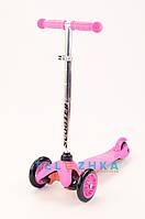 Самокат детский MicMax Scooter Colorful розовый