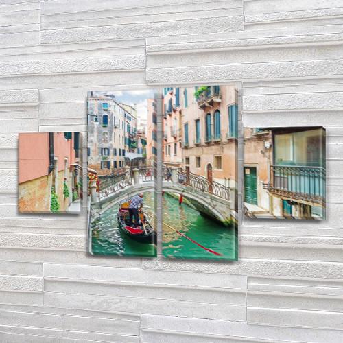 Картина из фотографии модульные на холсте дешево в интернет магазине, 50x80 см, (25x18-2/50х18-2)