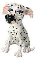 Фигурка-статуэтка собачка далматинец «Саффи» коллекционная из керамики Англия, h-18 см. 340-1025