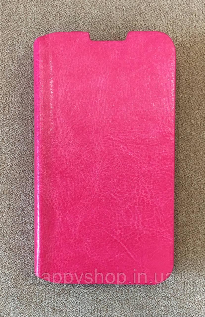 Чехол-книжка для Lenovo A316 (Розовый)