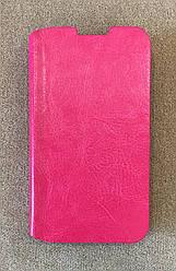 Чохол-книжка для Lenovo A316 (Рожевий)