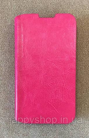 Чехол-книжка для Lenovo A316 (Розовый), фото 2