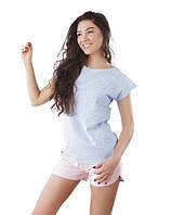 Красивая мягкая хлопковая  женская пижама