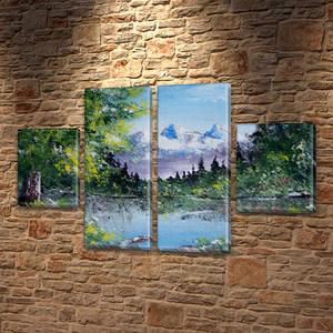 Картины триптих на холсте купить дешево, на Холсте син., 50x80 см, (25x18-2/50х18-2)