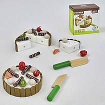 Деревянная игра  Торт С 29507 (50) в коробке