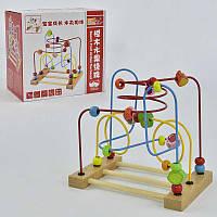 Деревянная игра Лабиринт С 29376 (24) в коробке