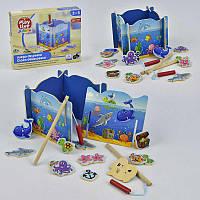 Деревянная игра Рыбалка С 29409 (60) в коробке