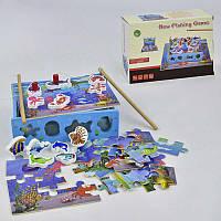 Деревянная игра Рыбалка С 29525 (24) в коробке