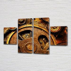 Картина на холсте Часовой механизм купить в интернет магазине картин, 50x80 см, (25x18-2/50х18-2)