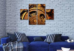 Картины на холсте модульные купить в интернет магазине картин, 50x80 см, (25x18-2/50х18-2), фото 3