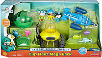 Октонавты Подводный мега флот 3 Гуп Octonauts Gup Fleet Mega Pack Fisher-Price, фото 1