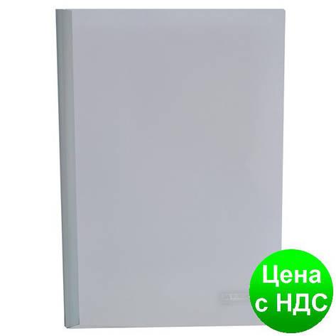 Папка-скоросшиватель с прижимной планкою, 10мм, белый BM.3371-12, фото 2