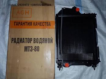 Радиатор МТЗ-80, Д-240, Д-243 4-хрядный (алюминий) 70-1301010 (Польша), фото 2
