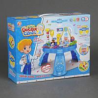 """Игровой набор """"Доктор"""" 311-1 (12) 33 предмета, музыкальный, свет, на батарейке, в коробке"""