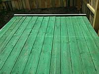 Забор деревянный строительный, фото 1