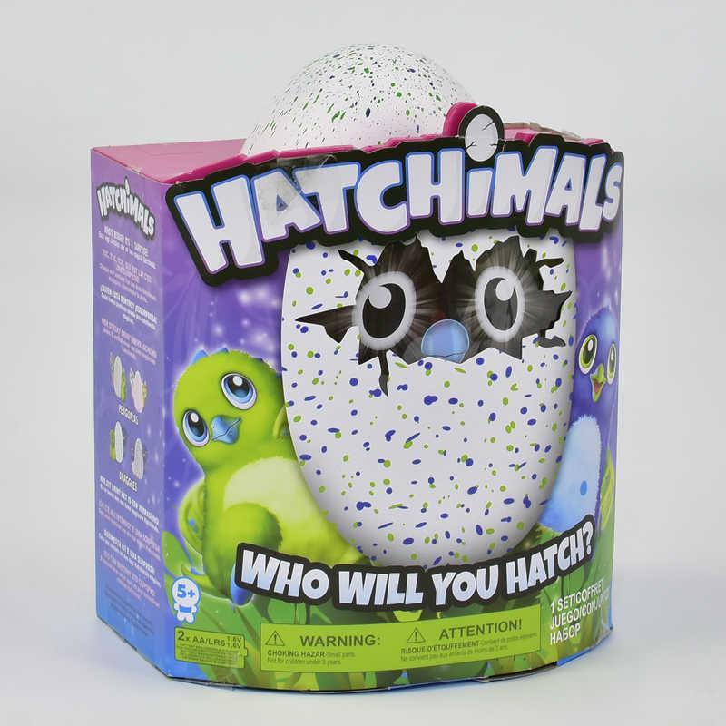 """Інтерактивна іграшка HG 706 """"Hatchimals"""" (24) Яйце Хетчималс (дракоша-пінгвін) 2 види"""