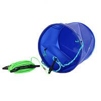 Складное ведро для рыбалки SF23842  11 л Синее (gr007083)