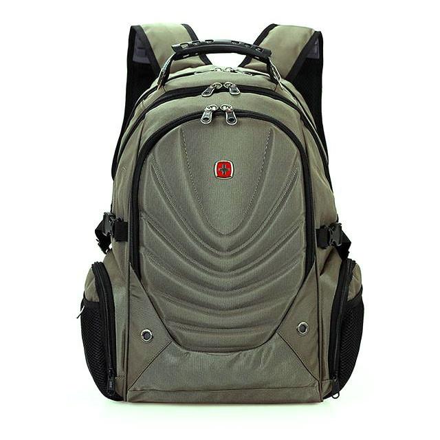 Вместительный рюкзак в стиле SwissGear, свисгир. Хаки. 35L / 8828 haki