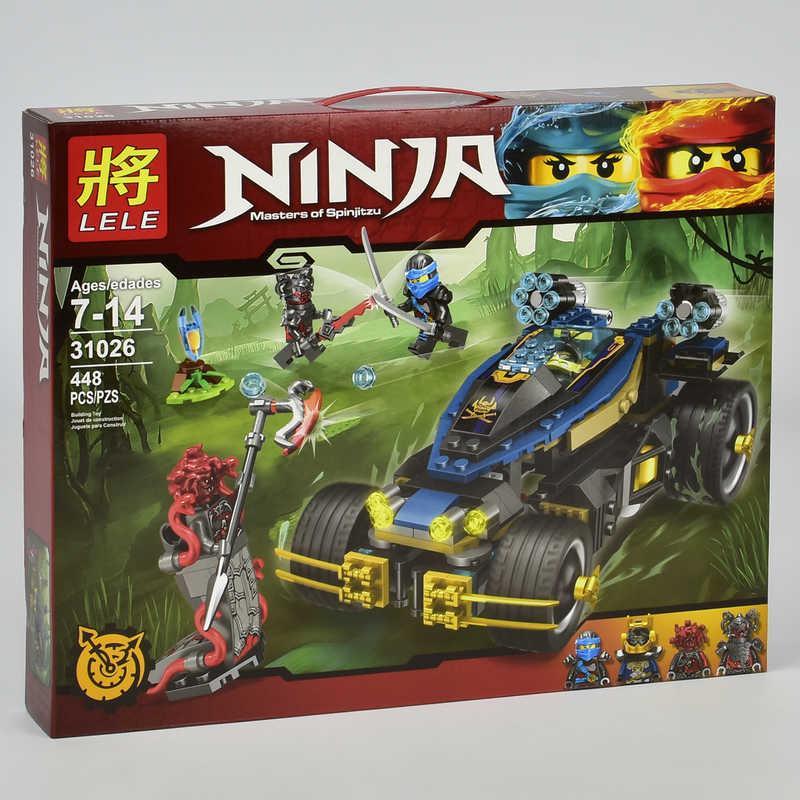 "Конструктор ""NJ"" 31026 (18) Ninjago «Самурай VXL», 448 деталей, в коробке"