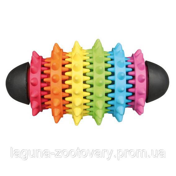 Мяч-регби резиновый для собак  15см