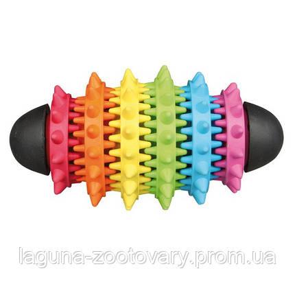 Мяч-регби резиновый для собак  15см, фото 2