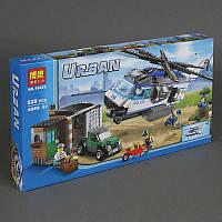 """Конструктор 10423 Bela Urban (18) """"Вертолетный патруль"""" 528 деталей, в кор-ке"""