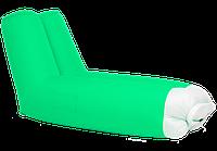 Надувной шезлонг ламзак Air-plum Stan Зеленый