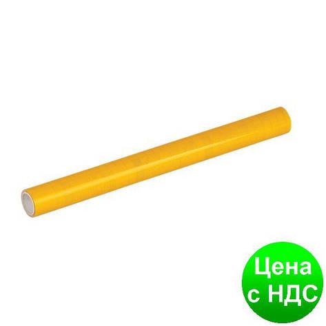 Пленка клейкая для книг, желтая  (33см*1,5м), рулон ZB.4790-08, фото 2