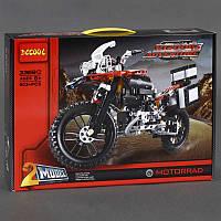 """Конструктор 3369 В (12/2) """"Мотоцикл"""", 603 дет, в коробке"""