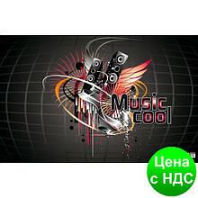 """Подкладка для письма """"Музика"""" с карманом, 665x430мм, PVC 0318-0035-94"""