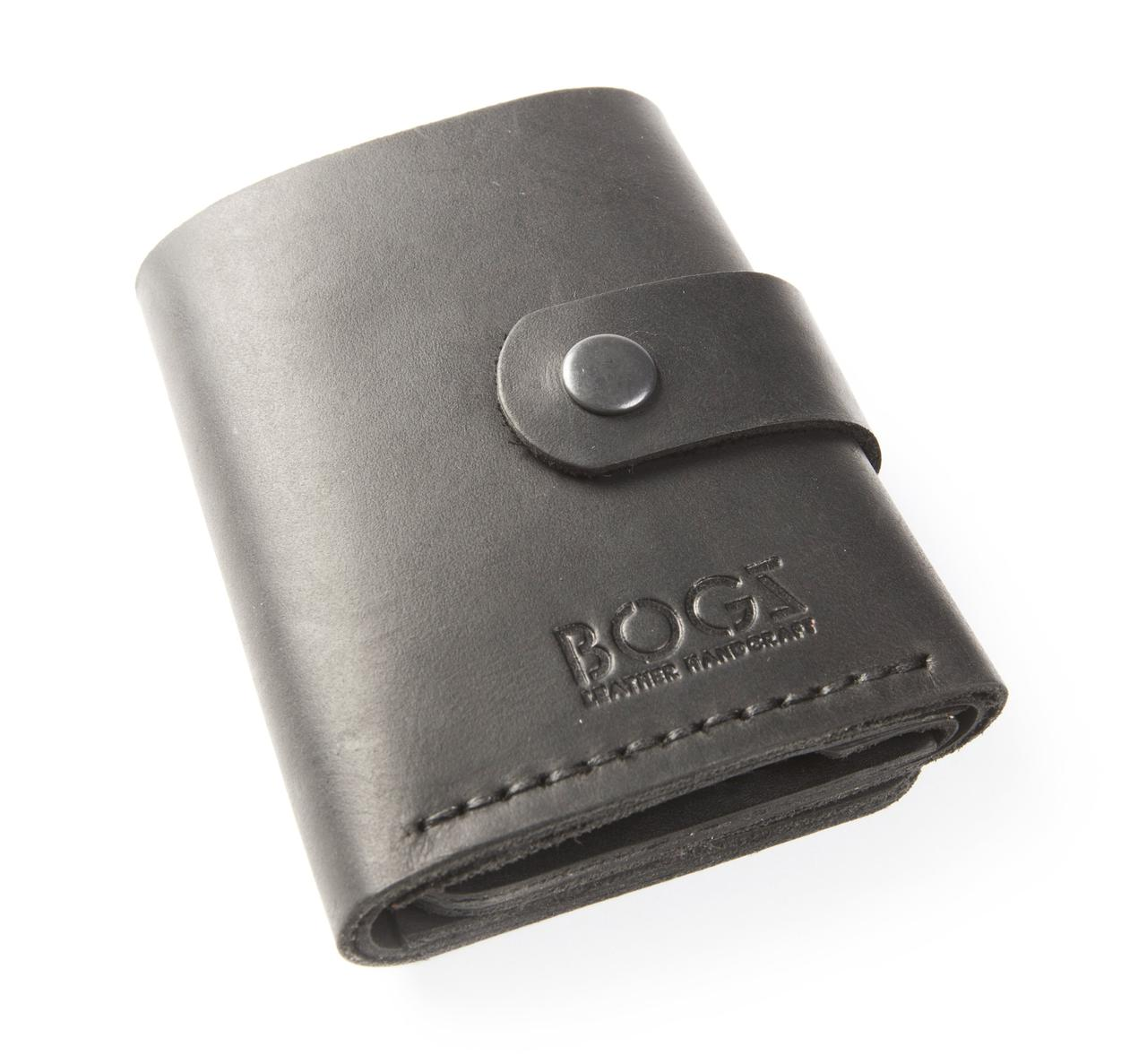 315d8f5c8dea Кожаный кошелёк «Ролл» - Интернет-магазин кожаных аксессуаров ручной работы  BOGZ в Виннице