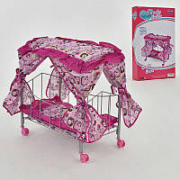 Кроватка для кукол FL 990 (12) в коробке