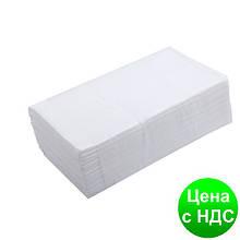 Рушники паперові целюлозные Z-подібні.,160 шт., 2-х слойні, білий 10100103