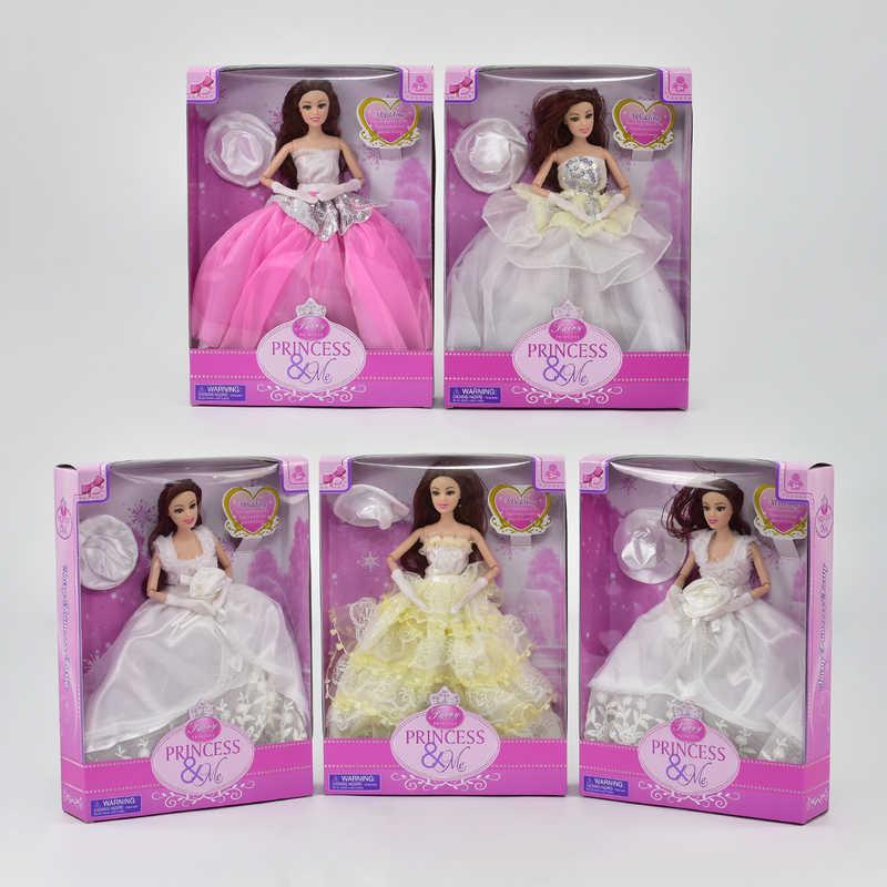 Кукла 7568 (60/2) с аксессуарами, шарнир, 5 видов, в коробке