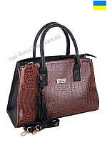 6022c0e82e84 Сумка женская WeLassie 52018 brown (26x37) - купить оптом на 7км в одессе
