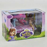 Кукла Принцесса София с мебелью ZT 8692 (30) с аксессуарами, в коробке