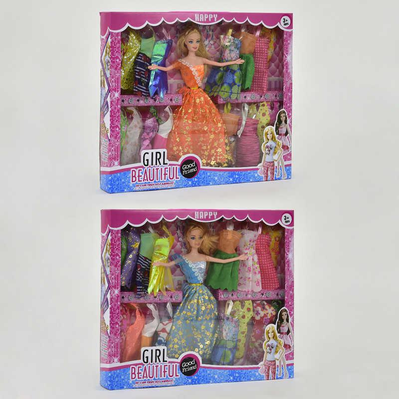 Кукла с нарядом 8638 В-1 (48/2) 2 вида, в коробке