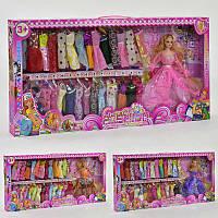Кукла с нарядом 88088 Н (12) 3 вида, в коробке