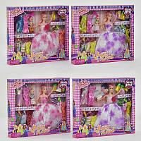Кукла с нарядом D 22-2 (48/2) 4 вида, в коробке