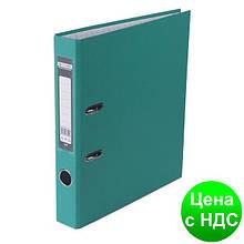 Регистратор LUX одност. JOBMAX А4, 50мм PP, бирюзовый, сборный BM.3012-06c