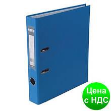 Регистратор LUX одност. JOBMAX А4, 50мм PP, синий, сборный BM.3012-02c
