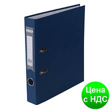 Регистратор LUX одност. JOBMAX А4, 50мм PP, т.синий, сборный BM.3012-03c