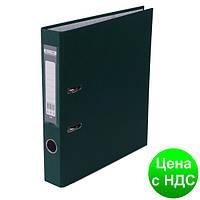 Регистратор LUX одност. JOBMAX А4, 50мм PP, т.зеленый, сборный BM.3012-16c