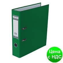 Регистратор LUX одност. JOBMAX А4, 70мм PP, зеленый, сборный BM.3011-04c