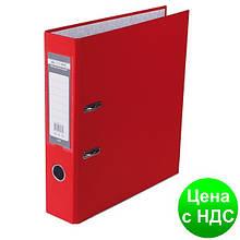 Регистратор LUX одност. JOBMAX А4, 70мм PP, красный, сборный BM.3011-05c