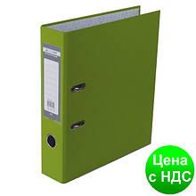 Регистратор LUX одност. JOBMAX А4, 70мм PP, салатовый, сборный BM.3011-15c