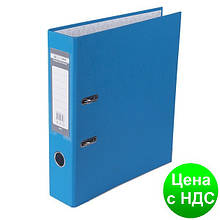 Регистратор LUX одност. JOBMAX А4, 70мм PP, св.синий, сборный BM.3011-30c