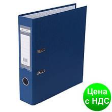 Регистратор LUX одност. JOBMAX А4, 70мм PP, т.синий, сборный BM.3011-03c